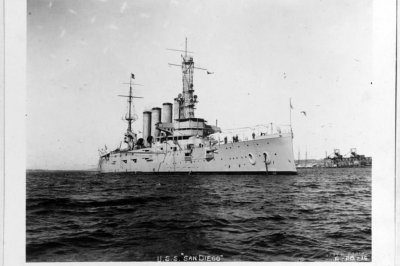 Researchers: USS San Diego was sunk by German land mine