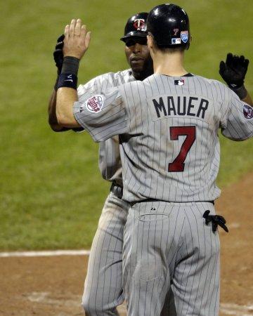 Twins catcher Joe Mauer back from injury