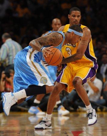 NBA: LA Lakers 105, Denver 103