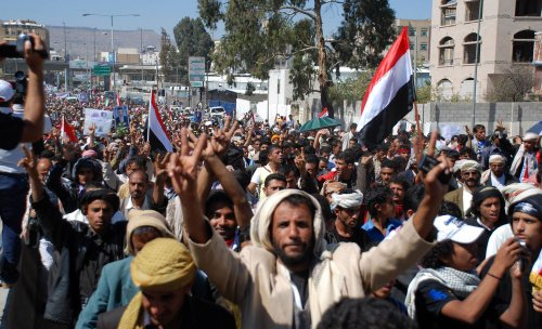 Yemen's change to democracy hindered by humanitarian crisis, U.N. says