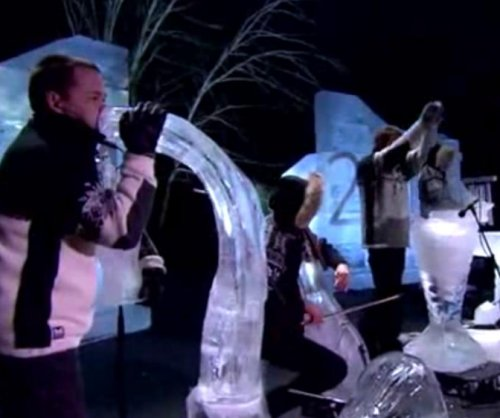 Ice Music Festival features instruments carved from ice