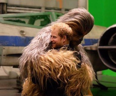 Prince William, Prince Harry visit 'Star Wars: Episode VIII' set
