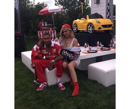 Kylie Jenner, Tyga throw King a Ferrari-themed birthday party