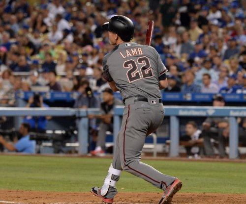 Jake Lamb's two homers help Arizona Diamondbacks cool off Los Angeles Dodgers