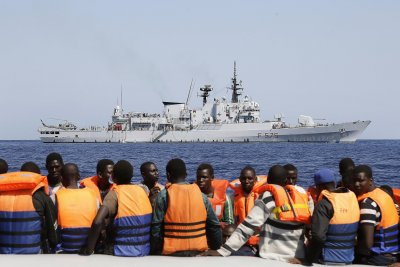 U.N. Security Council sanctions accused Libyan human traffickers