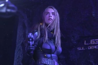 Cara Delevingne kicks butt in first 'Valerian' footage