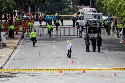 Bomb near Bogota bullring injures more than 30