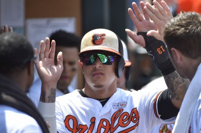 Baltimore Orioles' Manny Machado makes super human throw from third base