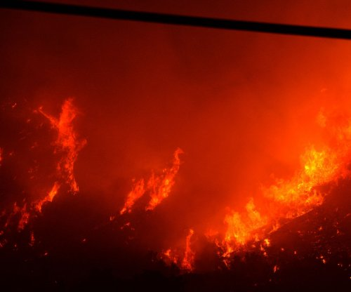 Expected windy weather could hamper fighting Southern California fire