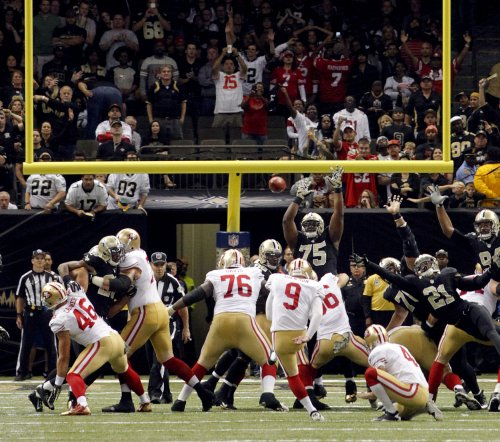 Niners rally to top Saints in OT thriller