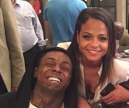 Christina Milian, Lil Wayne spotted holding hands on set
