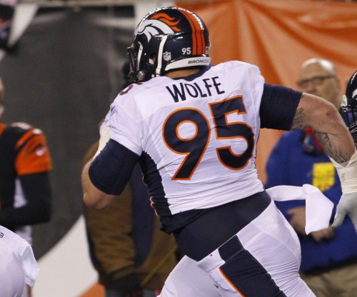 Denver Broncos Derek Wolfe suspended four games for performance enhancing drug use