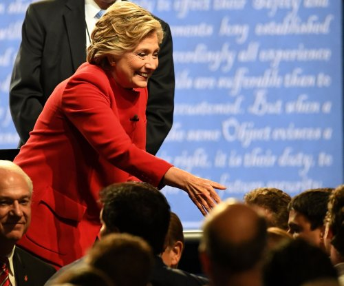 Hillary Clinton's name misspelled on debate ticket