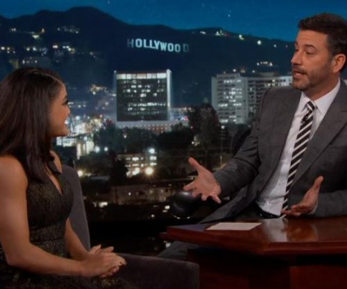 Jimmy Kimmel betting Laurie Hernandez wins 'DWTS'