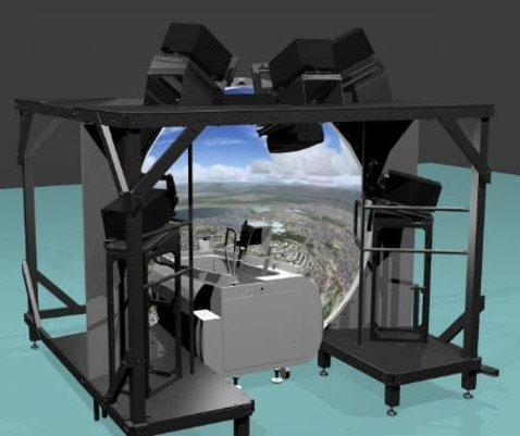 Esterline visual systems picked for Typhoon pilot training