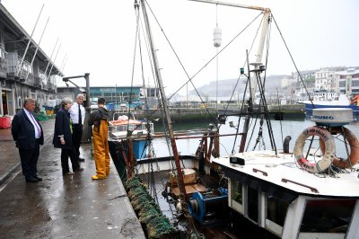 Britain to 'take back control' of waters by ending fishing agreement