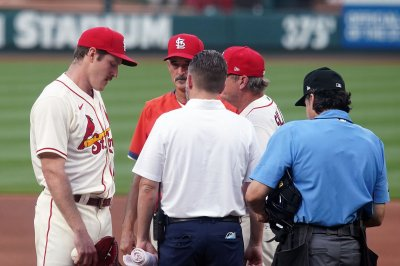 Cardinals' Miles Mikolas put on IL after exiting first start since 2019
