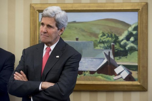John Kerry: Power nap at press conference was 'really long blink'