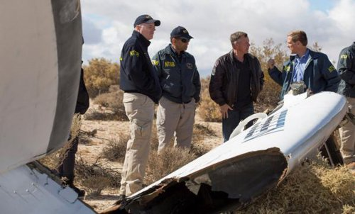 Virgin Galactic backers back off after crash