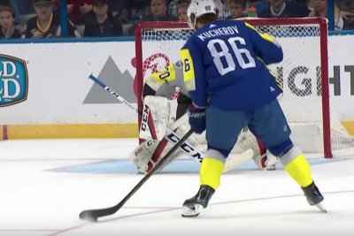 Nikita Kucherov scores five-hole goal at NHL All-Star Game