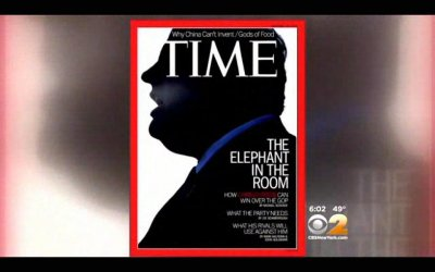 Time runs Chris Christie cover: 'The Elephant in the Room'