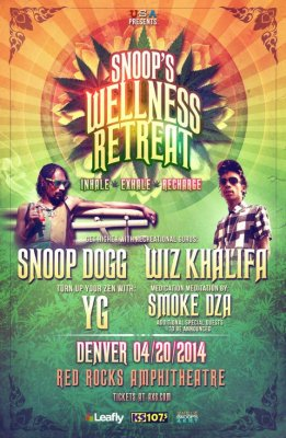 Snoop Dogg and Wiz Khalifa will host 'Wellness Retreat' on 4/20