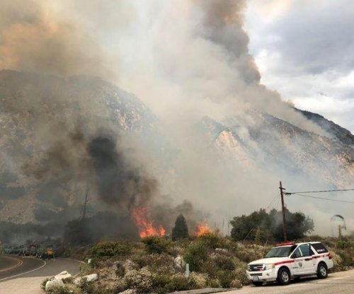 California firefighter dies battling blaze near Yosemite