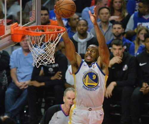 Golden State Warriors' Andre Iguodala has clean MRI, questionable for Game 4