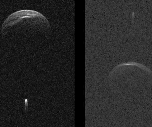 Mile-wide asteroid with its own moon will fly by Earth on Saturday