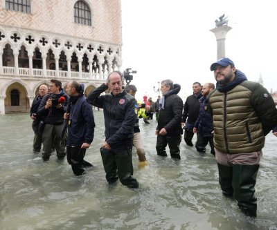 Venice declares emergency amid historic flood levels