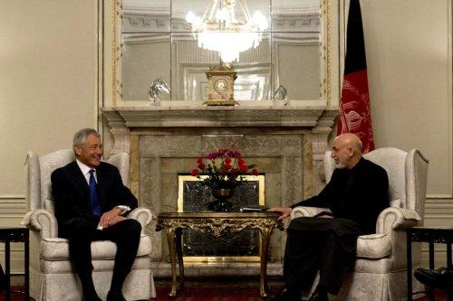 Hagel, Karzai meeting scrapped