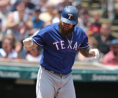 Mike Napoli, Texas Rangers get past Kansas City Royals