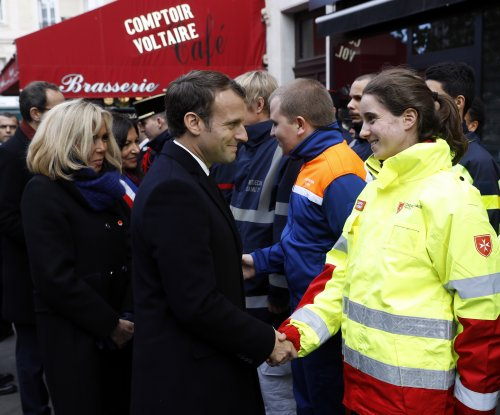 Macron marks 2nd anniversary of Paris attacks