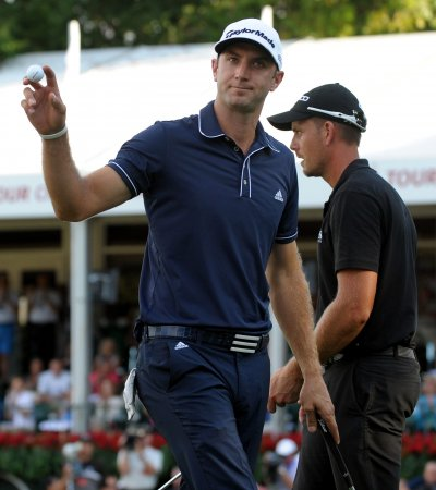 Dustin Johnson jumps to 12th in men's golf rankings
