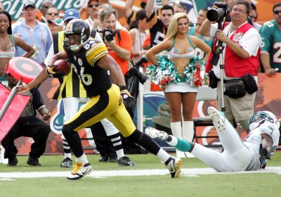 NFL: Pittsburgh 23, Miami 22