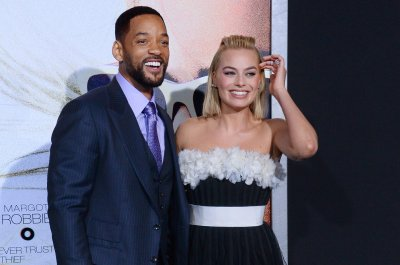 See Margot Robbie, Will Smith dressed as their 'Suicide Squad' characters Harley Quinn, Deadshot