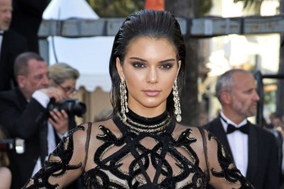 Kendall Jenner stuns in sheer dress in Cannes