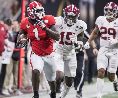 Focused Sony Michel stays on toes at Georgia Pro Day