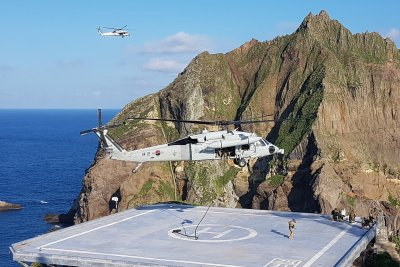 S. Korea concludes expanded Dokdo military drills amid row with Japan