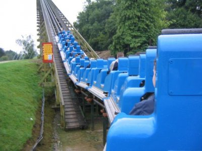 Deer struck by roller coaster at Lightwater Valley them park