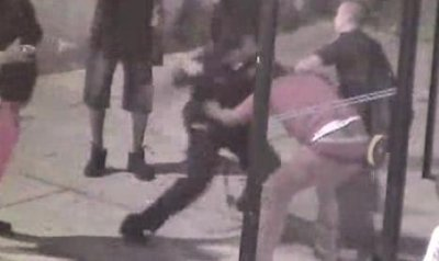Baltimore cop charged in bus stop beating that was caught on camera