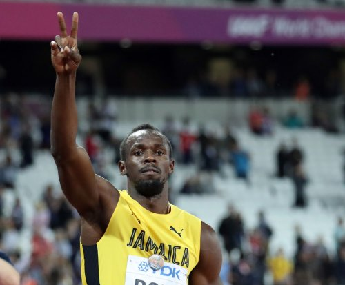 Usain Bolt falls in final 100-meter race