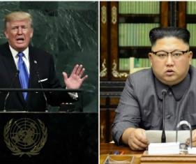 Trump says 'madman' Kim will be 'tested like never before'