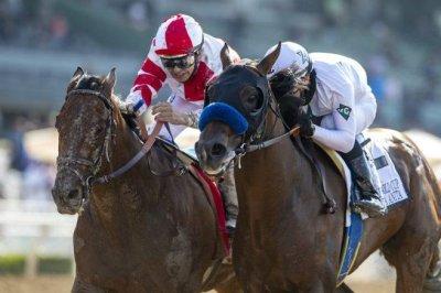 Holiday weekend horse racing ends with triple Grade I bang at Santa Anita