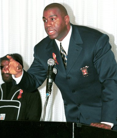 Magic Johnson asks mercy for ex-teammate Jay Vincent