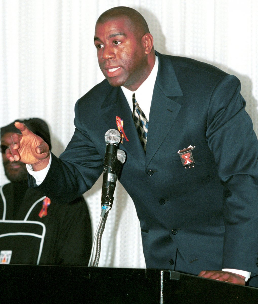Magic Johnson asks mercy for ex teammate Jay Vincent UPI