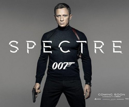 Daniel Craig stars as James Bond in 'Spectre' poster
