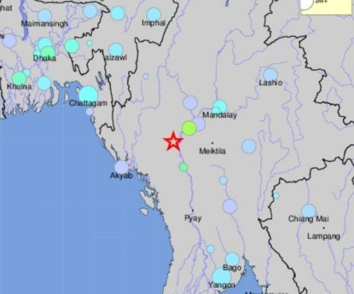 6.8 magnitude earthquake hits central Myanmar, no damage reported