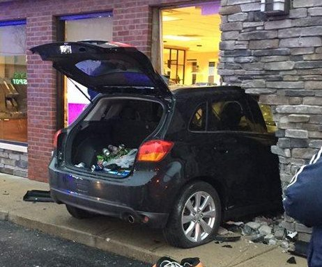 West Virginia driver's Wendy's crash gives new meaning to 'drive-through'