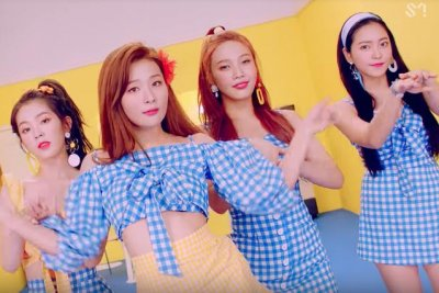 Red Velvet achieves perfect all-kill with 'Power Up'